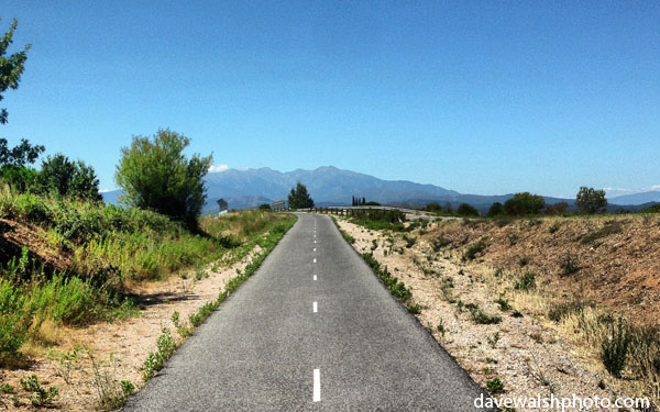 Cycle path near Perpignan, France (c) Dave Walsh www.davewalshphoto.com