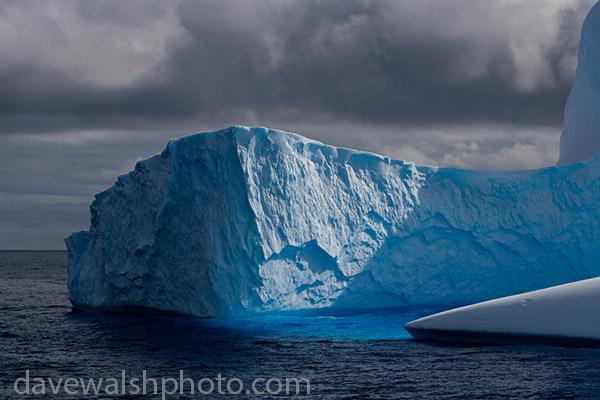 Iceberg, Antarctica, (c) Dave Walsh