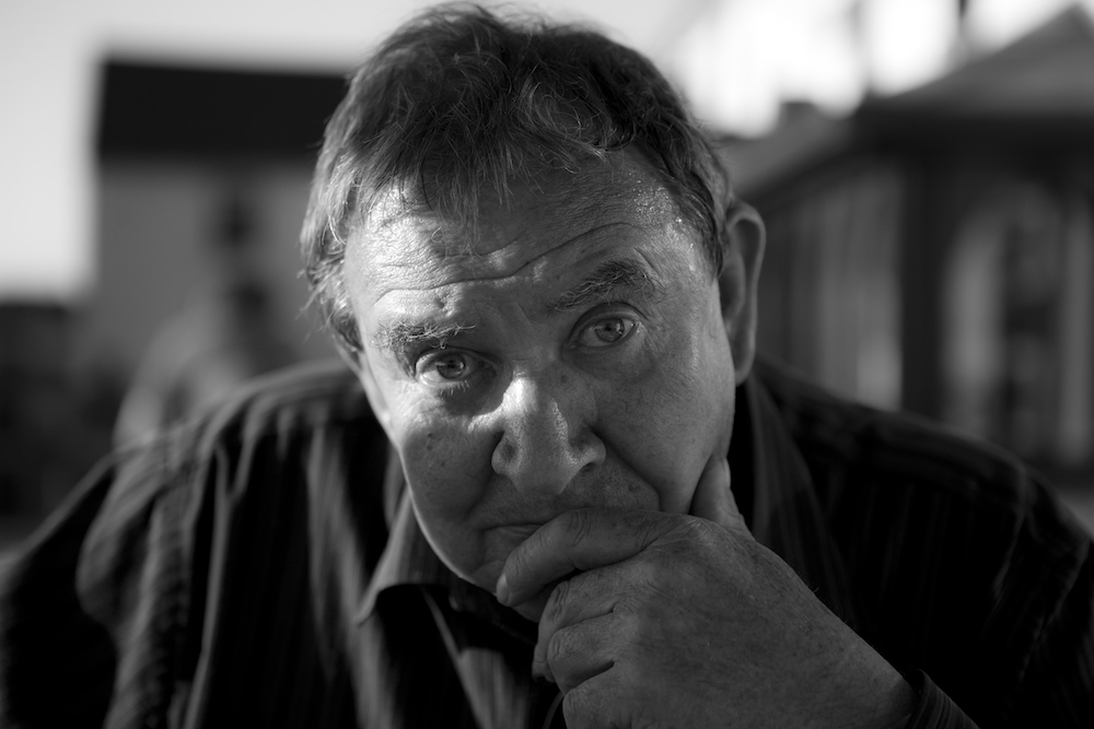 Jim Walsh, 1942-2017. The Da - my father, photographed on 3rd June 2011.