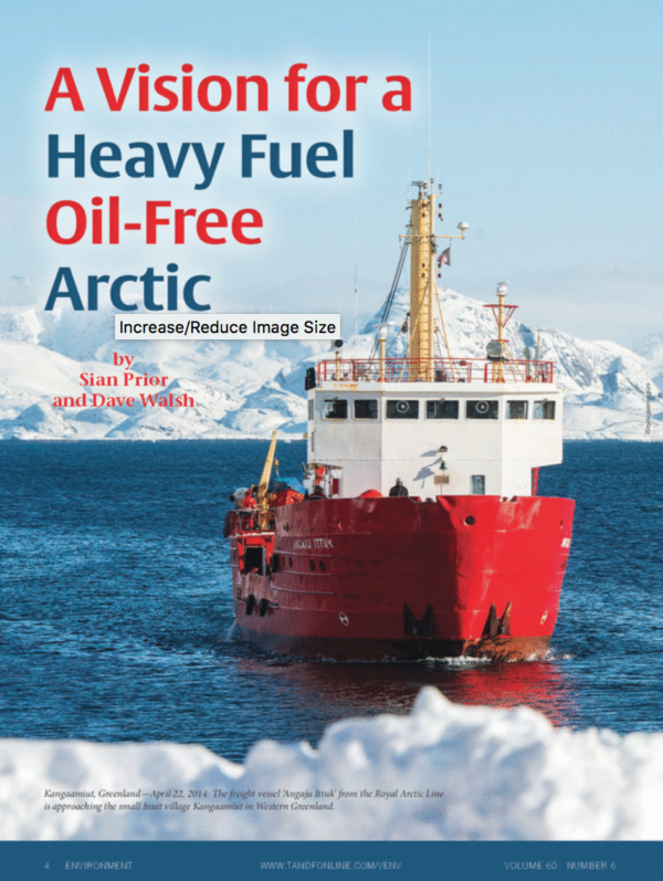 A Vision for a Heavy Fuel Oil-Free Arctic